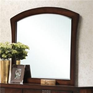 Landscape Mirror with Arched Frame