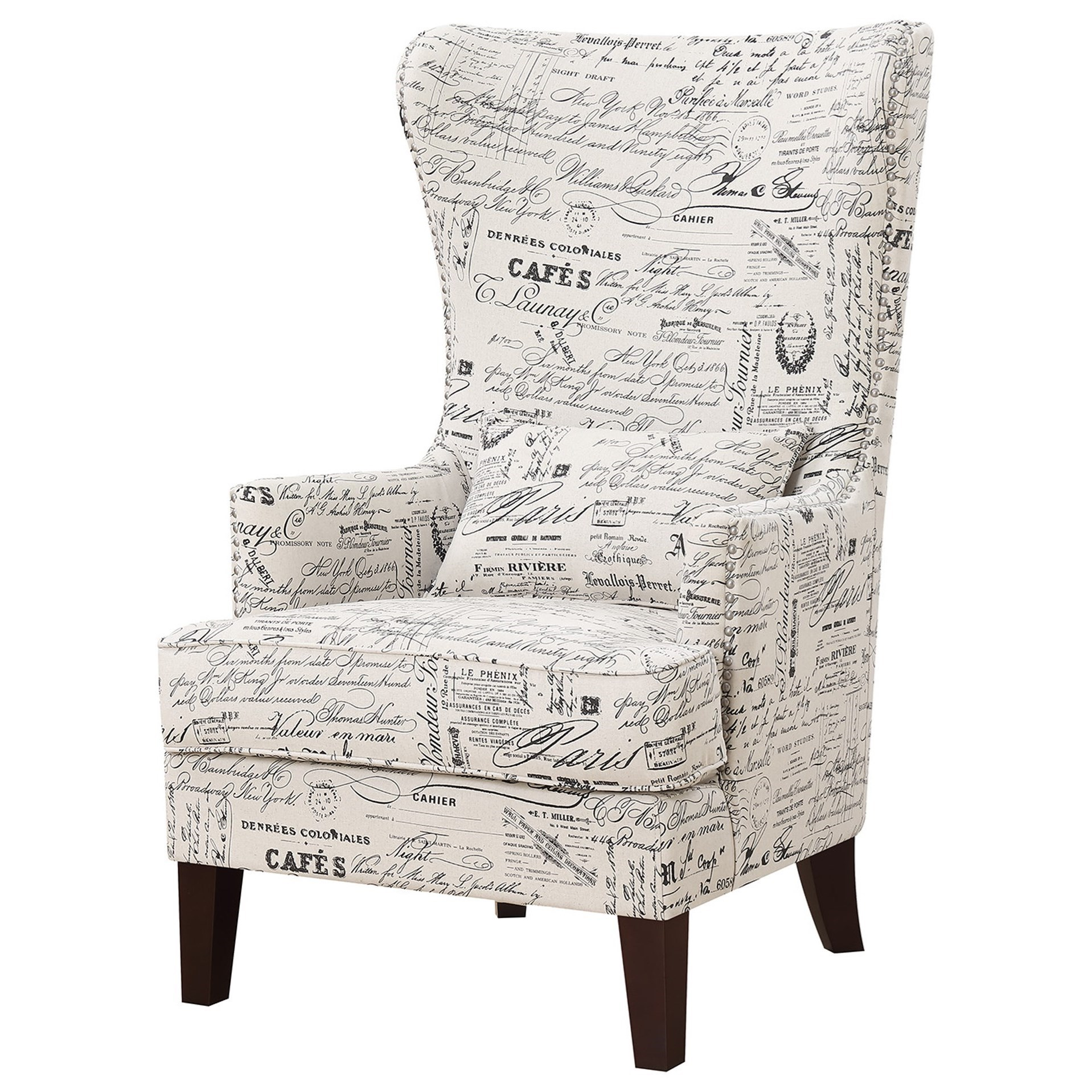 Kori Accent Chair by Elements International at Dream Home Interiors