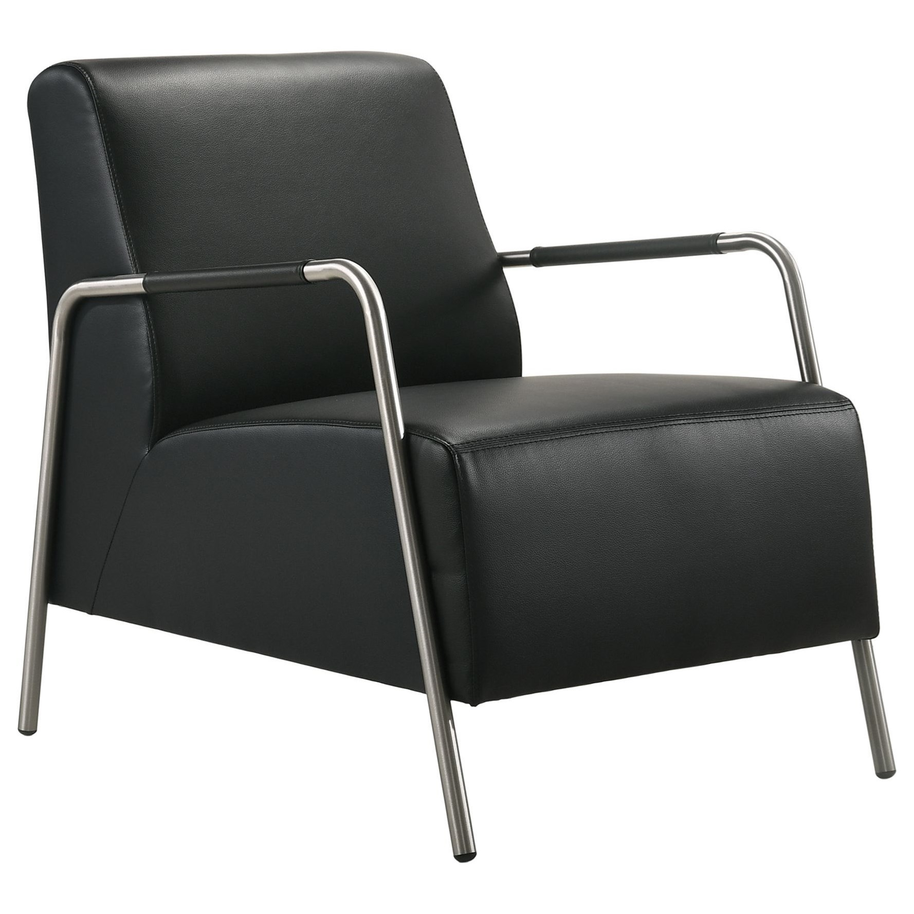 Kuala Modern Accent Arm Chair by Elements International at Goffena Furniture & Mattress Center