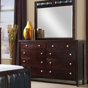 Dresser with Eight Drawers
