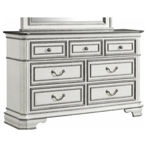 Glamorous Dresser with Seven Drawers