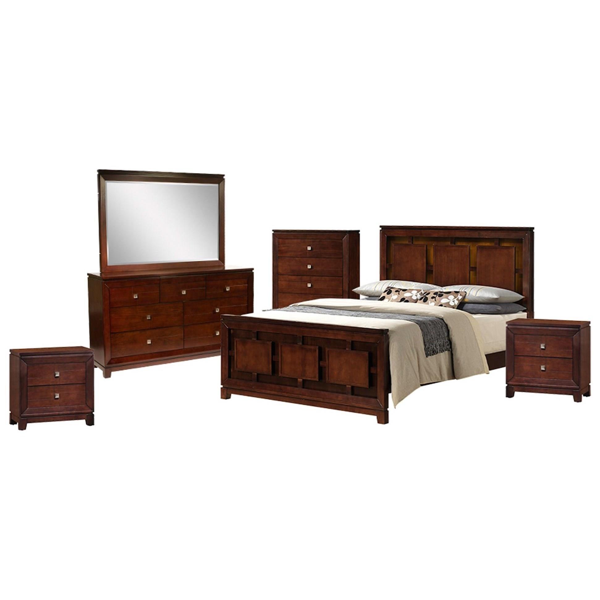 elements international london 6piece king bedroom set