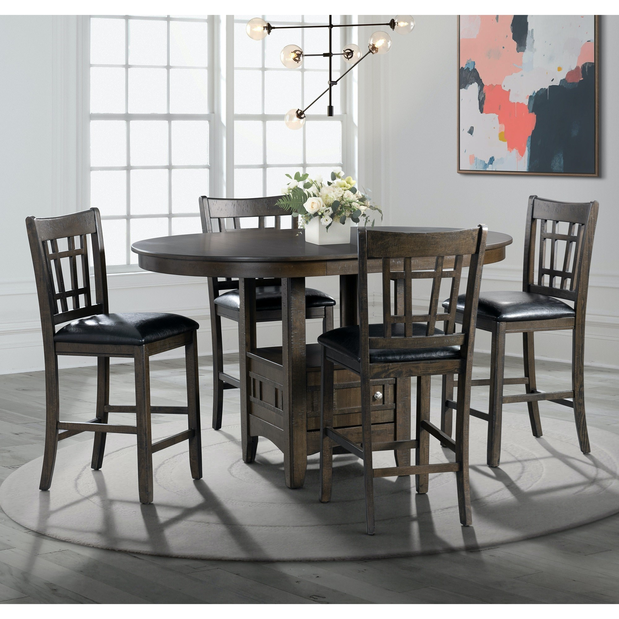 Max Counter Height Table Set by Elements International at Smart Buy Furniture