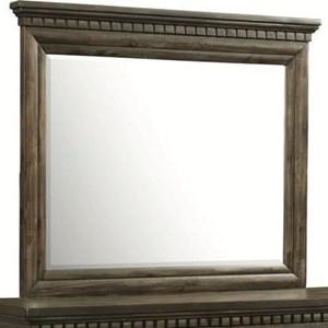 Traditional Framed Dresser Mirror