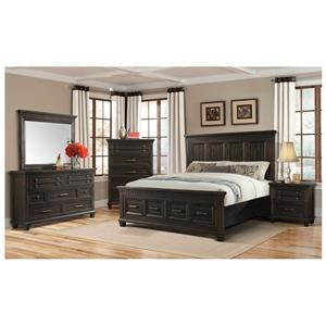 4 Piece Queen Bedroom Group