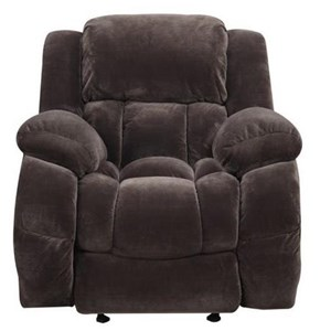 Glider Recliner with Channeled Back