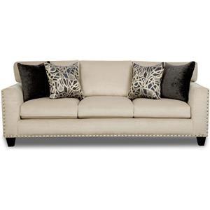Sofa with Nailhead Trim