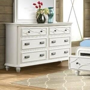 Tropical Six Drawer Dresser