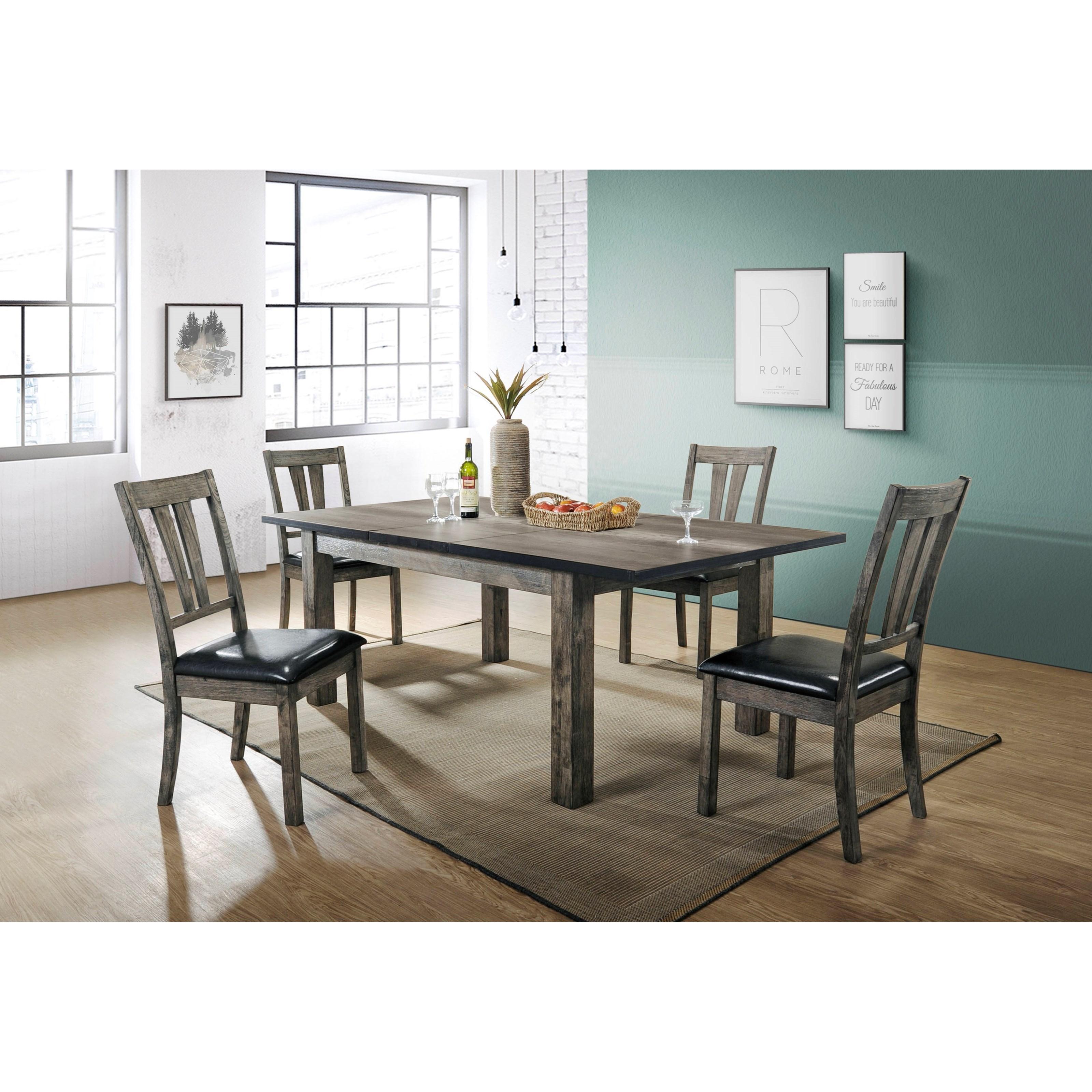 Beckman 5-Piece Dining Set at Walker's Furniture