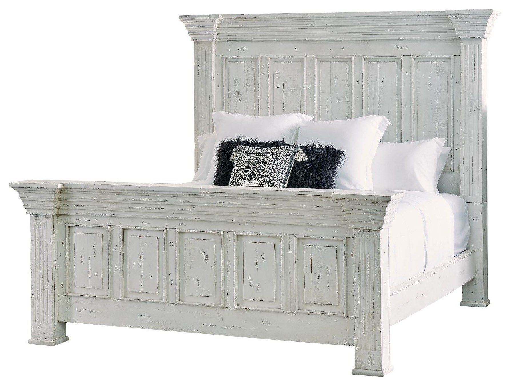 Olivia King Bed by Elements International at Smart Buy Furniture