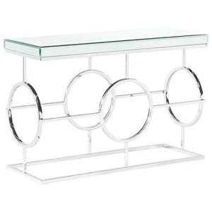 Rectangle Mirrored Sofa Table