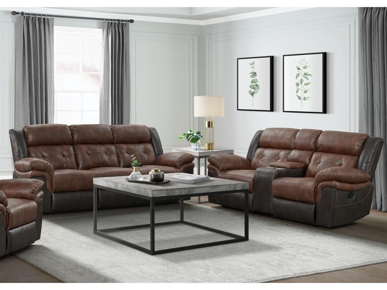 Sadler Motion Sofa and Loveseat by Elements International at Smart Buy Furniture