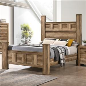 Queen Post Bed