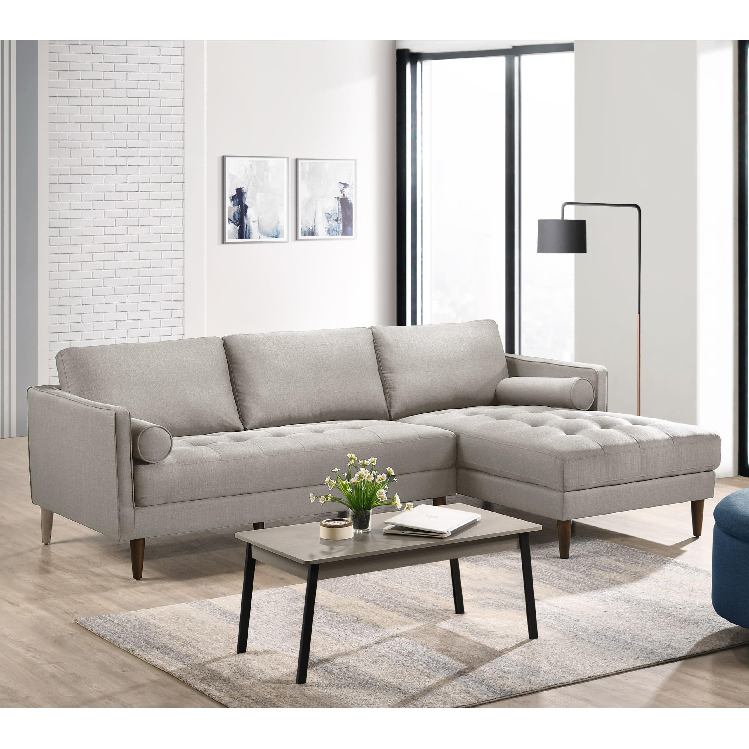 Sampson Sectional by Elements International at Dream Home Interiors