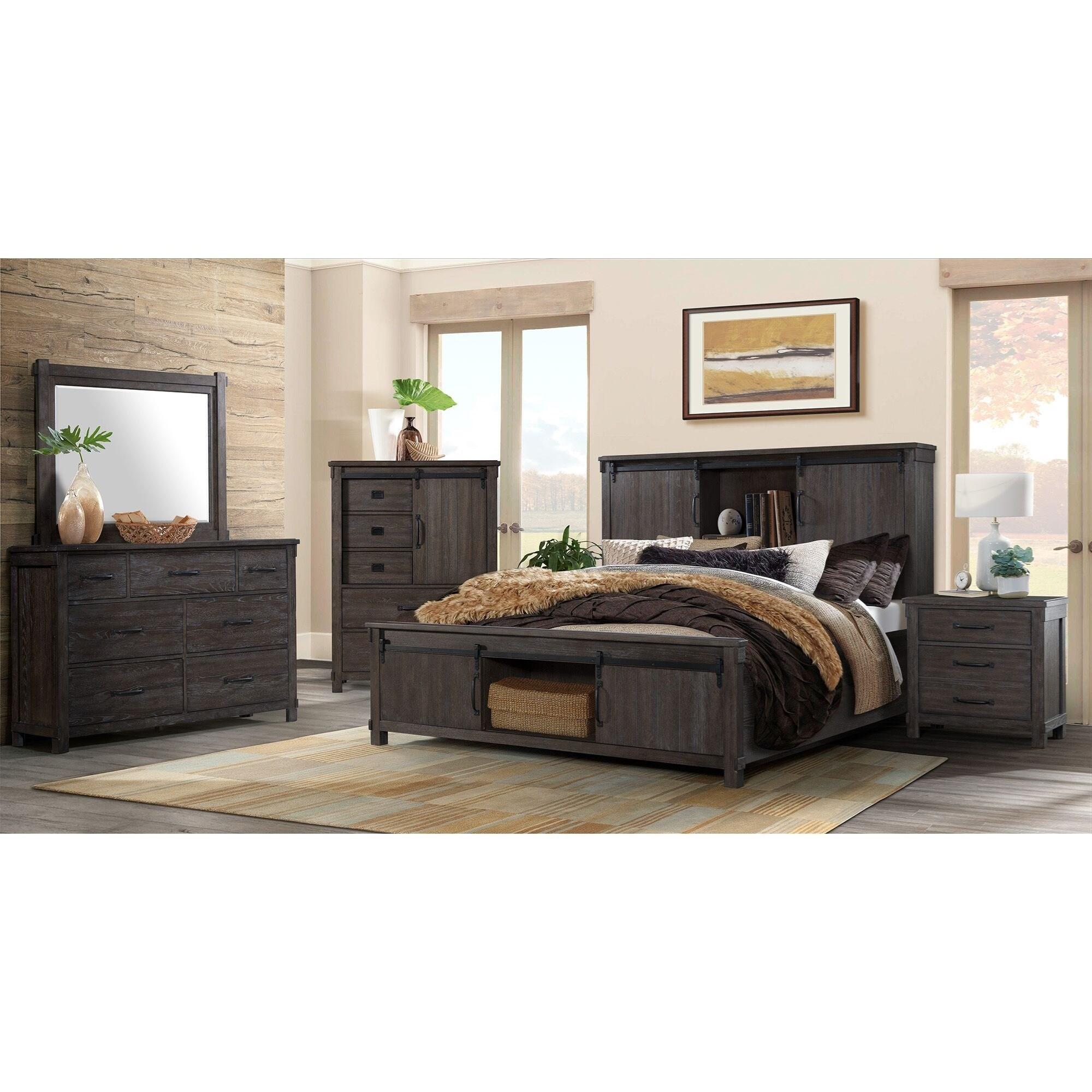 Scott Queen Bedroom Group by Elements International at Smart Buy Furniture
