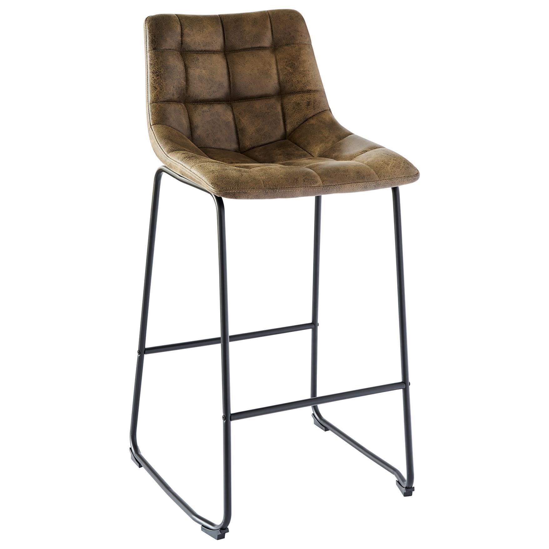 Seth Bar Stool by Elements International at Bullard Furniture