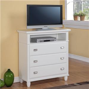 Television Chest w/ 3 Drawers