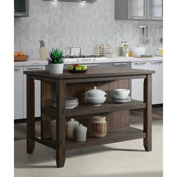 Stone Kitchen Island by VFM Basics at Virginia Furniture Market