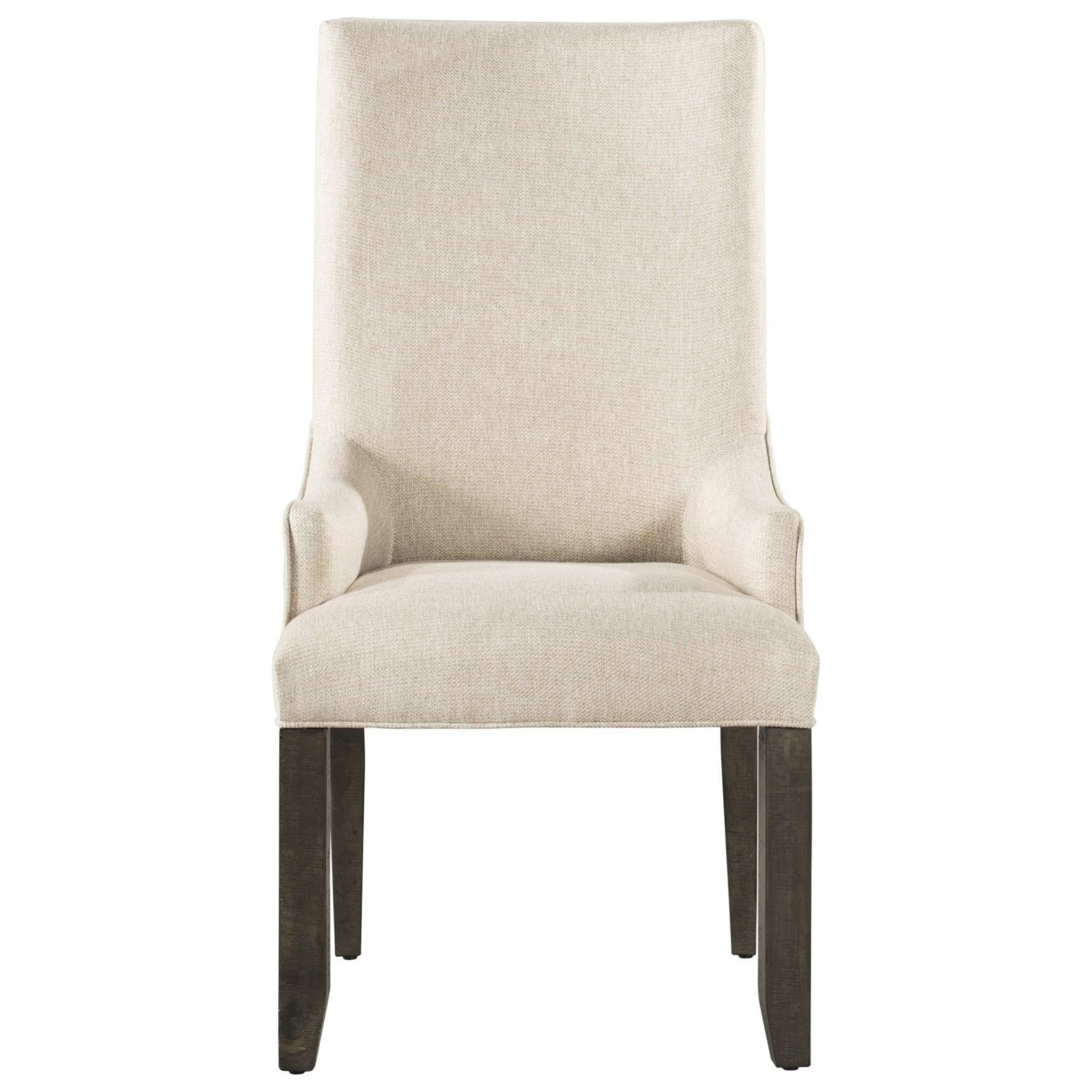 Stone Parson Arm Chair by Elements International at Powell's Furniture and Mattress