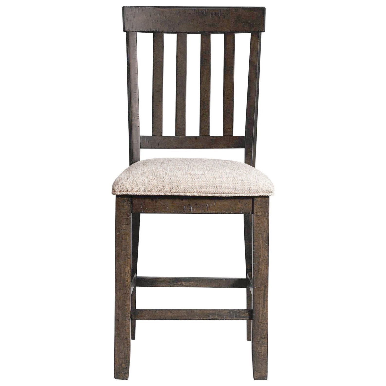 Stone Counter Dining Chair Slat Back Set by Elements International at Dream Home Interiors