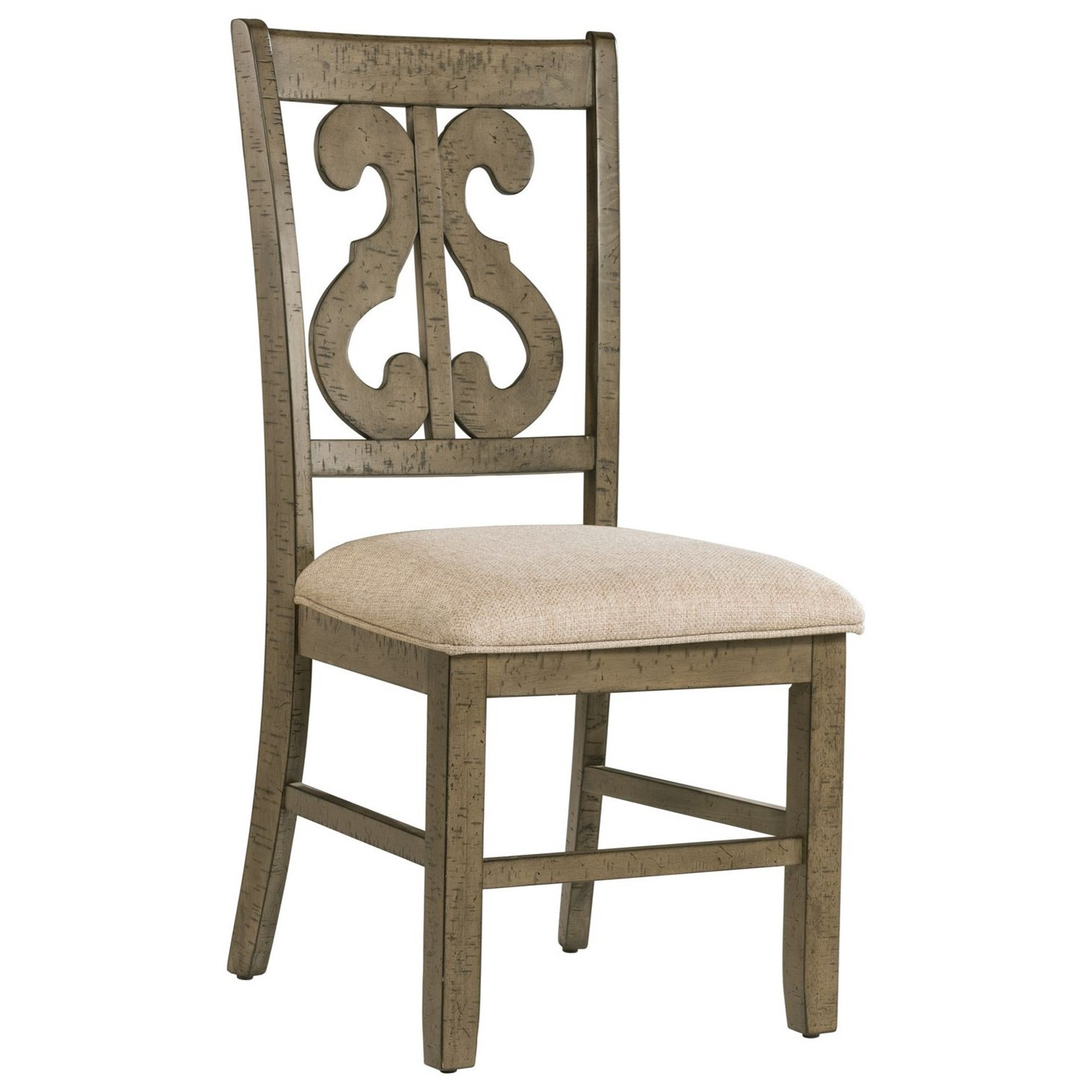 Stone Dining Side Chair by Elements International at Bullard Furniture