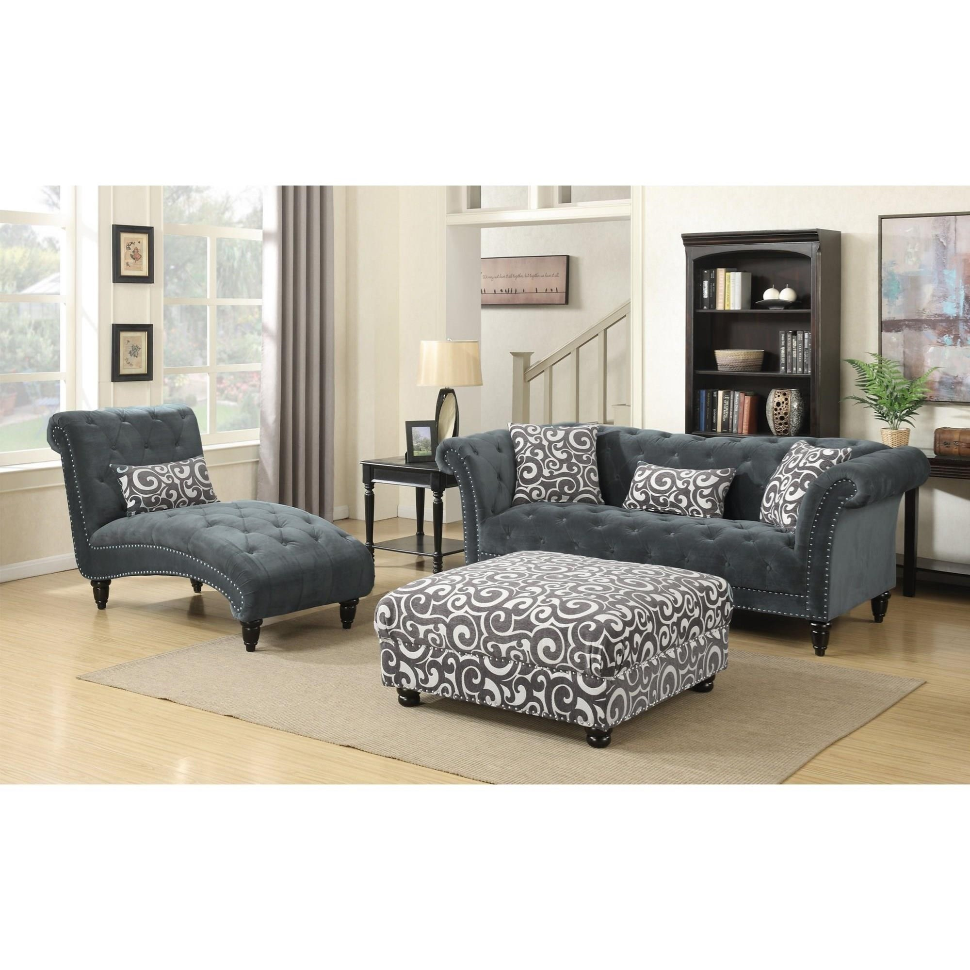 Twain 3-Piece Living Room Group by Elements International at Wilcox Furniture