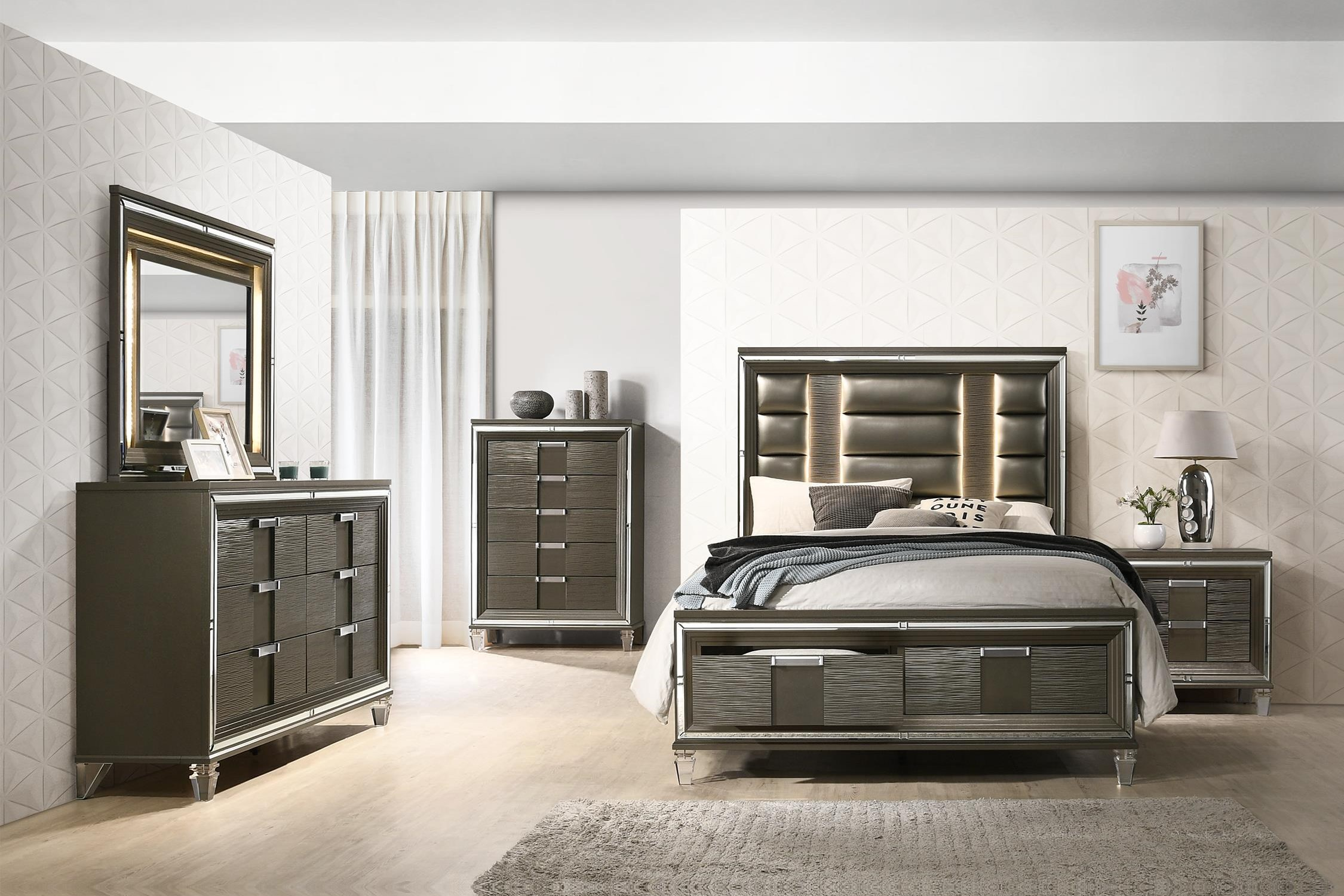 King 5 Pc Bedroom Group