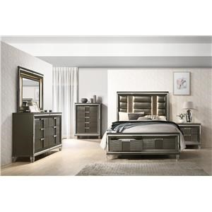 Queen 5 Pc Bedroom Group