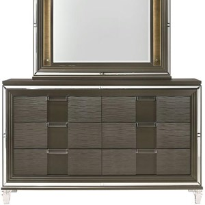 Glam 6-Drawer Dresser