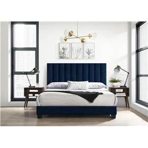 Queen Bed with 2 Nightstands