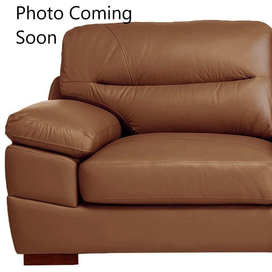 UJH3783 Leather Loveseat by Elements International at Furniture Fair - North Carolina