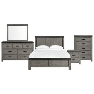 Queen Panel 5-Piece Bedroom Set