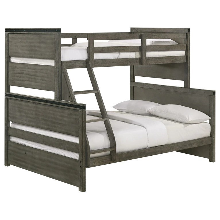 Wade Bunk Bed by Elements International at Becker Furniture