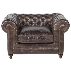 Elite Leather Bespoke Finn Chair