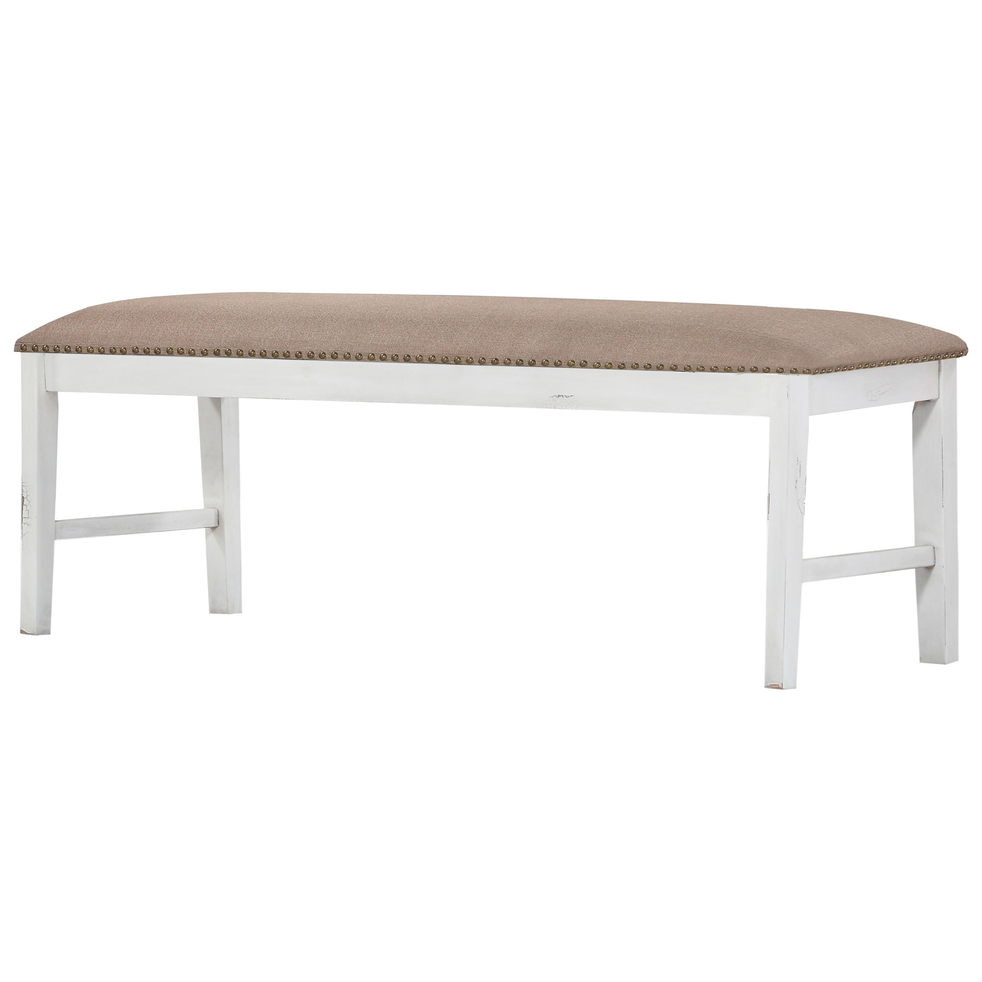Abaco Upholstered Dining Bench by Emerald at Northeast Factory Direct