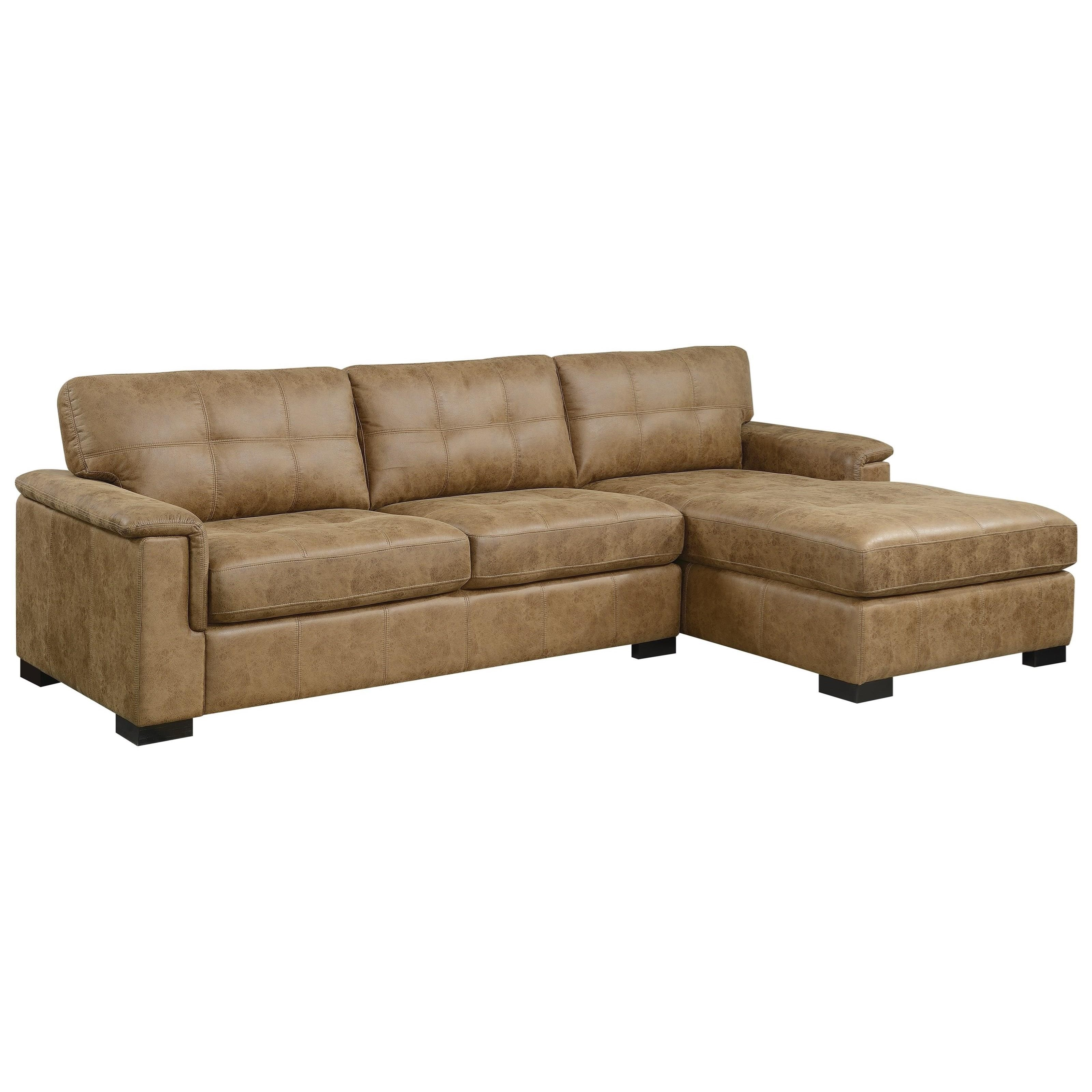 Abbott Sectional Sofa with Chaise by Emerald at Northeast Factory Direct