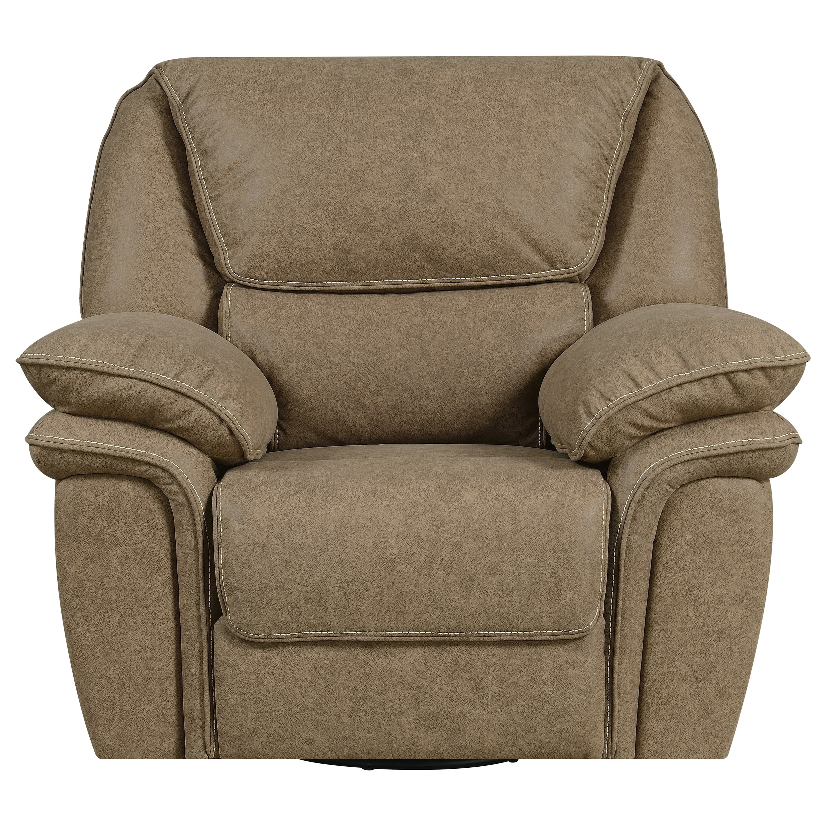 Allyn Swivel Glider Recliner by Emerald at Suburban Furniture