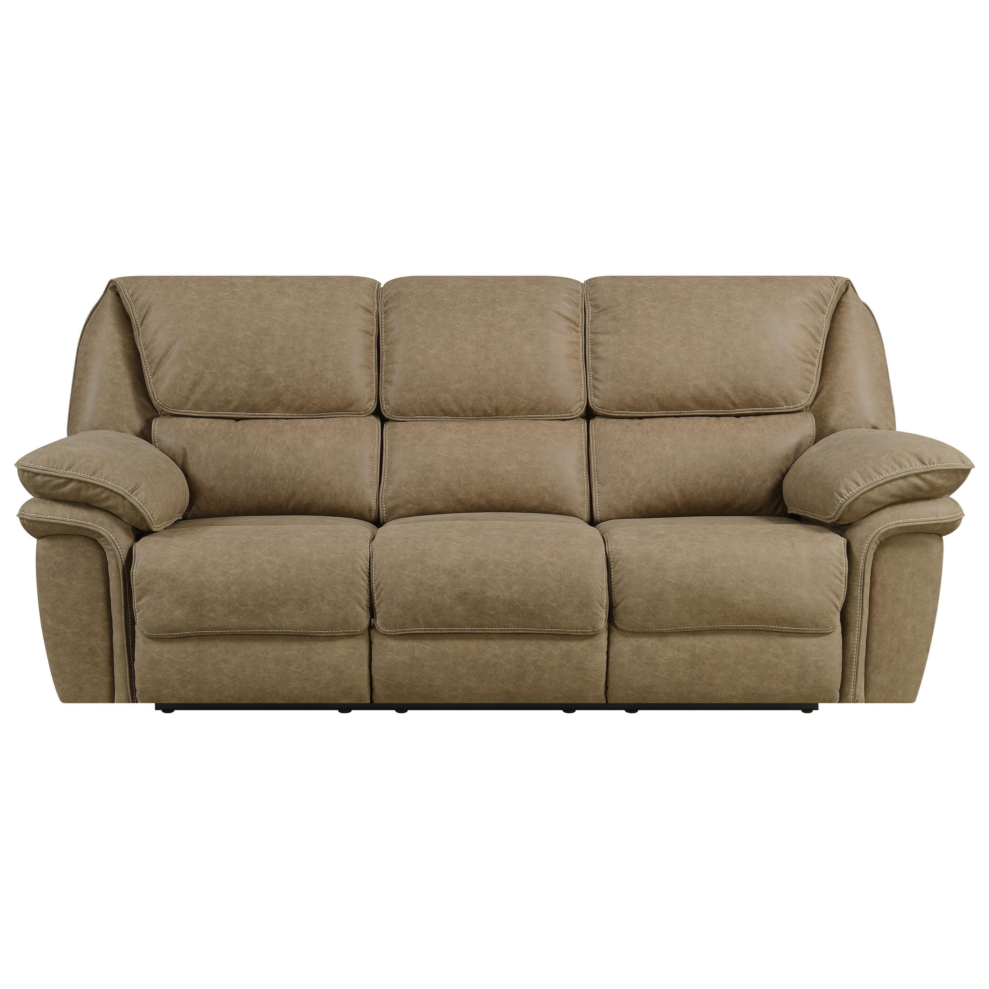 Allyn Power Reclining Sofa by Emerald at Suburban Furniture