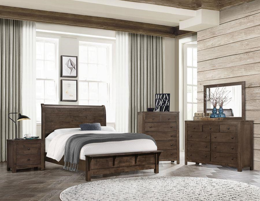 Ashton Hills Queen Size Bed by Emerald at Darvin Furniture
