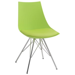 Dinging Chair with Chrome Struts