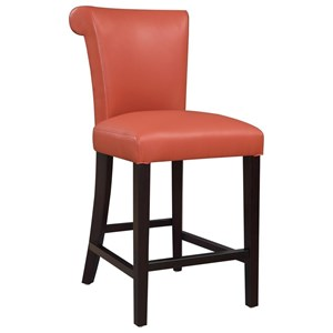 "Transitional 24"" Counter Height Bar Stool"