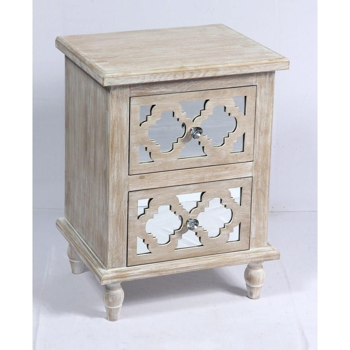Canterwood 2 Drawer Accent Table by Emerald at Northeast Factory Direct