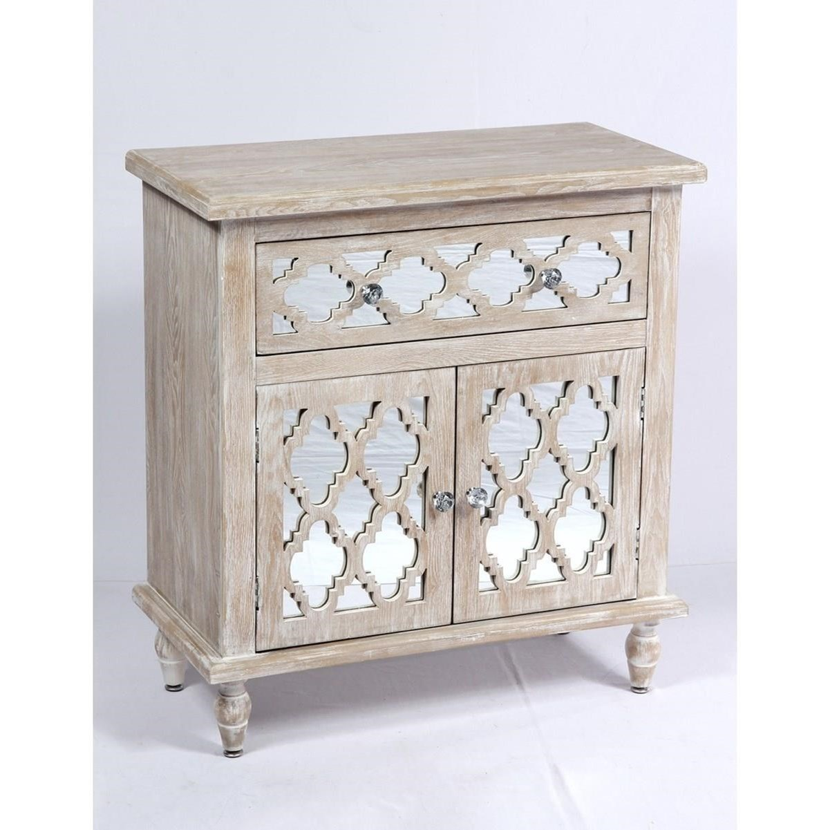 Canterwood 1 Drawer 2 Door Accent Cabinet by Emerald at Northeast Factory Direct