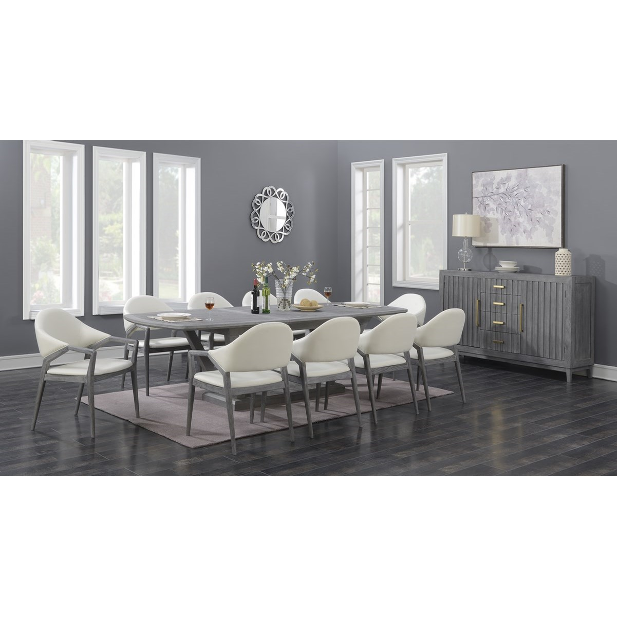 Carrera Formal Dining Group by Emerald at Northeast Factory Direct