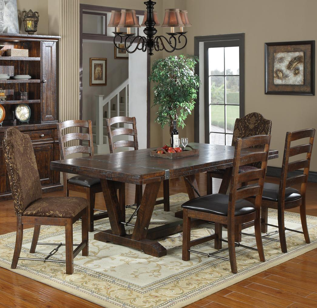 Castlegate 7 Piece Dining Set by Emerald at Northeast Factory Direct