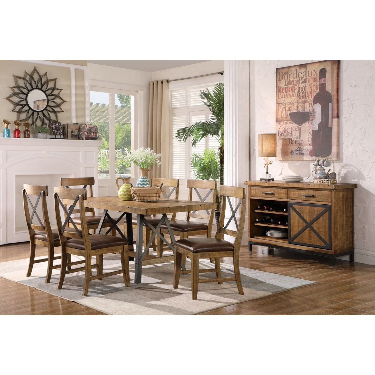 Chandler Dining Room Group by Emerald at Northeast Factory Direct