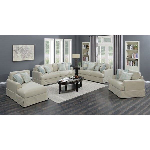 Charlotte Living Room Group by Emerald at Northeast Factory Direct