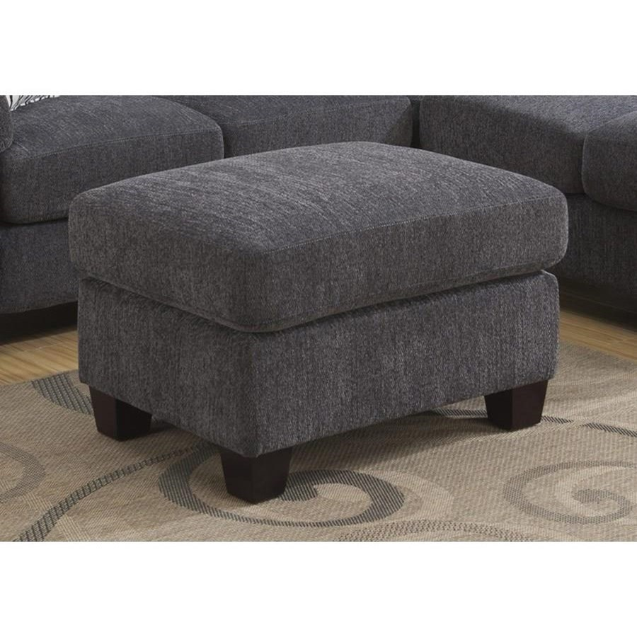 Clayton  Ottoman by Emerald at Miller Waldrop Furniture and Decor