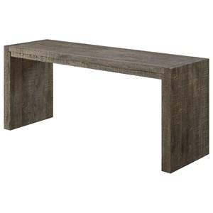 Contemporary Rustic Sofa Table