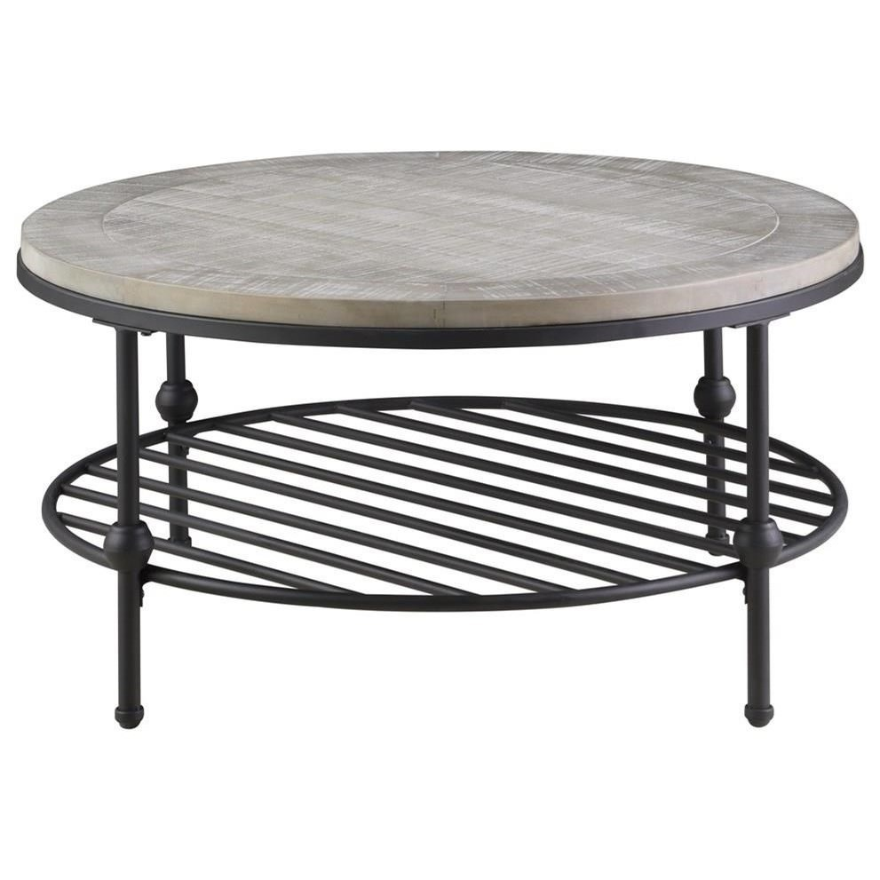 "Cutter Cocktail Table 36"" Round by Emerald at Northeast Factory Direct"